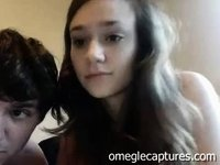 my first video with my sister on webcam omegle video on StupidCams