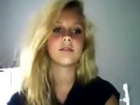 Teen Blonde Show Cute Body Webcam video on StupidCams