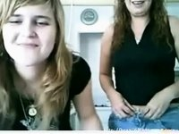 Mom And Daughter Are Having Fun On Cam video on StupidCams