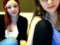 Two Girls Tease Boys On Cam video on StupidCams