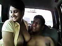 Indian couple car sex video on StupidCams