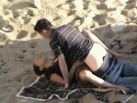 voyeur sex beach video on StupidCams