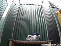 Czech Brunette Hidden Cam in Public Pool Shower Vo video on StupidCams