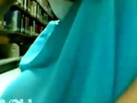 Teen In Public School Library On Webcam video on StupidCams