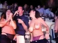 Wet tshirt contest.avi video on StupidCams