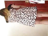 sissy cross dressing video on StupidCams