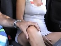 Touching myself in the car video on StupidCams