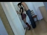 Banging her like not at any time in advance of video on StupidCams