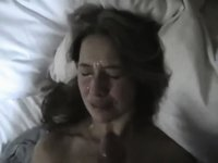 Hot Facial On Wife video on StupidCams