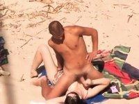 Make me cum on the beach video on StupidCams