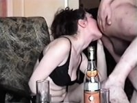Partying and engulfing a hard boner video on StupidCams
