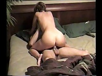 Girlfriend cowgirl ride video on StupidCams