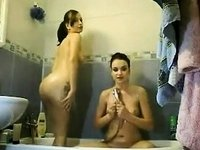 Hot bath on the livecam video on StupidCams