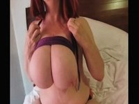 Biggest love melons on a model video on StupidCams