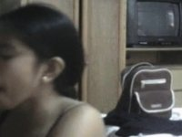 Asian girl and her husband video on StupidCams
