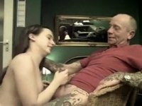 Old boy-friend and his female fuck buddy video on StupidCams