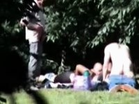 Orgy in Park video on StupidCams