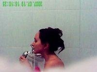 spycam bathing video on StupidCams