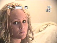 Honey blonde with curly h video on StupidCams