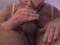 Another 69 cum in mouth video on StupidCams
