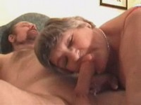 Granny does a BJ video on StupidCams