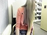 Wild Fun in the library video on StupidCams