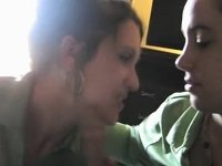 Favourable Man Acquires A Oral-Stimulation From two Beauties video on StupidCams