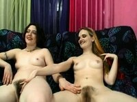 Shaggy Lesbo Paramours video on StupidCams