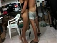 Latin pair sextape video on StupidCams