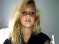 Teen Blonde Show Cute Body Webcam video on StupidCams
