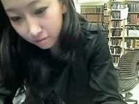 Needs to masturbated in the library video on StupidCams