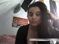 pakistani girl from dubai rani video on StupidCams