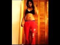 Hot Teen Ebony Strip Video video on StupidCams