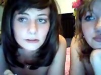 The Very First Time We Are Flashing Our Hipster Pussy video on StupidCams