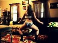 twerking at grandma's house video on StupidCams