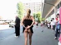 Porno episode street public voyeur video on StupidCams