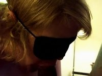 Blindfolded Hotel Oral Sex video on StupidCams