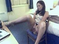 Darksome Brown princess masturbating at home video on StupidCams