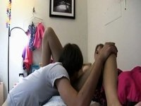 Golden-Haired princess showing her skills video on StupidCams
