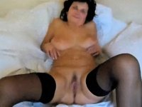 My busty aged wife video on StupidCams