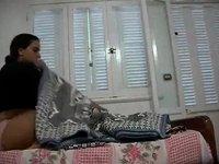 Arabian homemade wild sex action video on StupidCams
