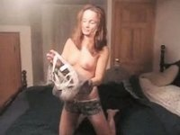 Nasty mother I'd like to fuck Getting A Weenie In Wonderful Doggy Style Position video on StupidCams
