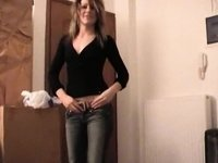 Nice girl wearing string gets rammed video on StupidCams
