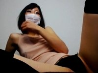 Stunning Asian darling is excited video on StupidCams