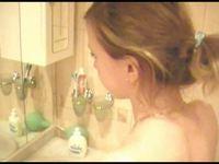 Shower Girl Filmed video on StupidCams