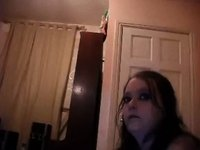 Fat goth sweetheart swallowing video on StupidCams