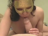 Rod eaten by doll in mask video on StupidCams