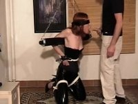 BDSM homemade action video on StupidCams