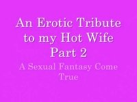 An erotic tribute to my delightsome wife part two video on StupidCams