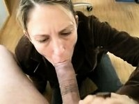 Sexually Excited mother I'd like to fuck receives her wet face gap stuffed with monster wang video on StupidCams